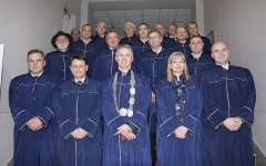 Rector and Vice-Rectors of the Banja Luka University